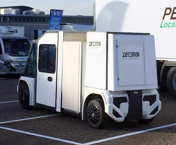 2ème prototype du véhicule électrique utilitaire