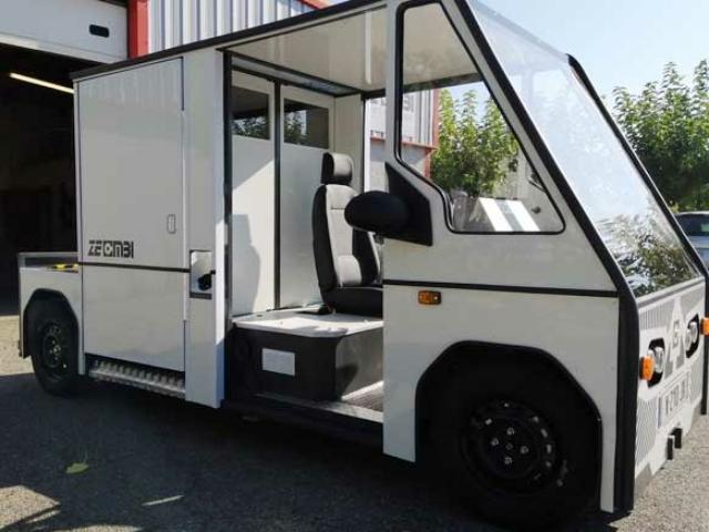 3ème prototype du véhicule électrique utilitaire