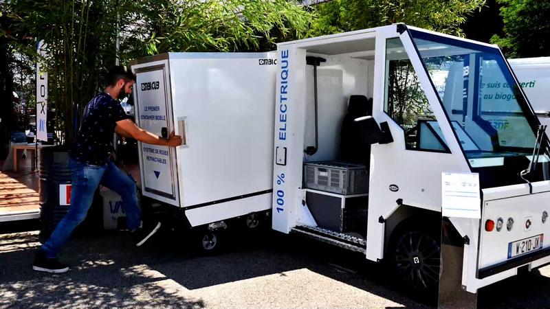 Mobile Container Combi Cub