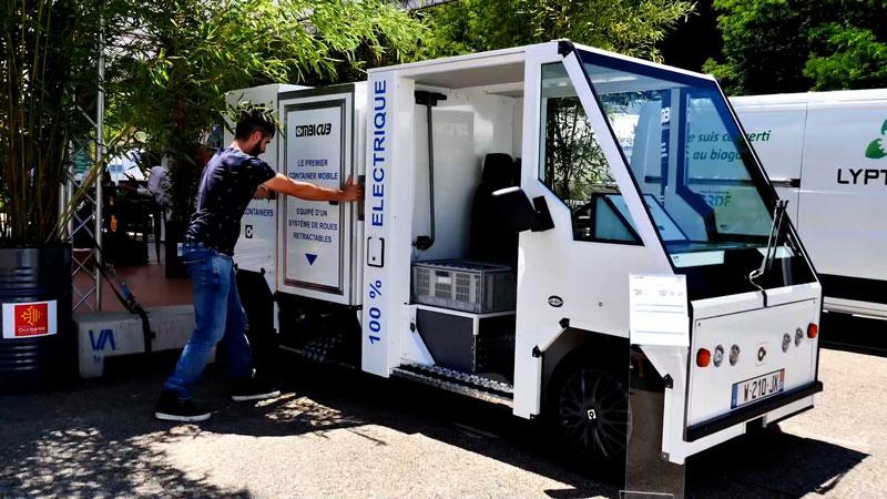 véhicule utilitaire urbain électrique ZE ONE